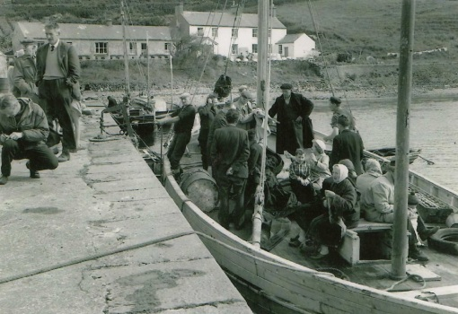 Mail boat Inish Bofin