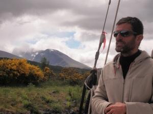 Hervé aux Shetlands