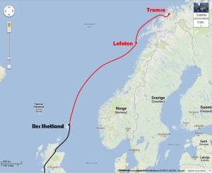 Shetlands - Tromso