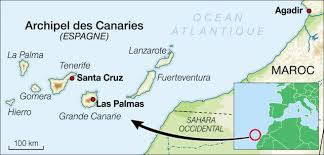 images Canaries carte